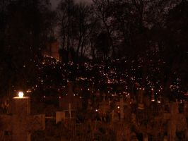 Hallow Cemetery by Maegnar