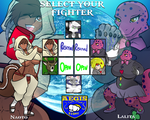 YCH Commission Stream: Select your fighter! UPDATE by Hayakain