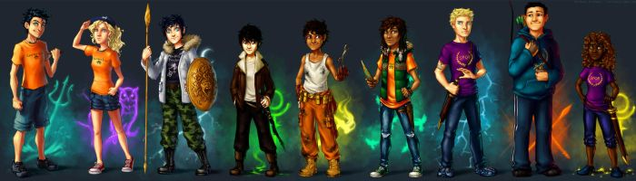 Demigods by lorellashray