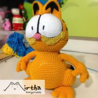 Amigurumi Garfield by MirthaAmigurumis