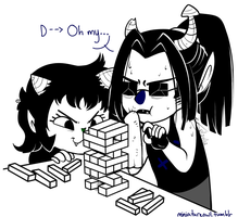 Jenga Concentration by Miniatureowl