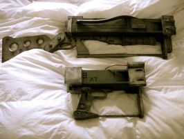 Fallout AEP7 and AER9 Prop Set by steampunk22