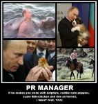 Putin - PR Manager by Sundrew