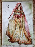 Lady Marian costume design by NadineThome