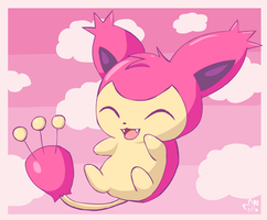 Oh look a skitty by pichu90