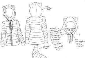 Cheshire Cat Hoodie by PiAddict