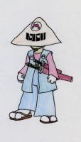 It'sa me, Samurai by JoffOliver