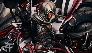10 layers assassin's creed by CheckeredStuffGFX