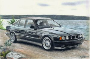 BMW E34 M5 by 2fast-2catch