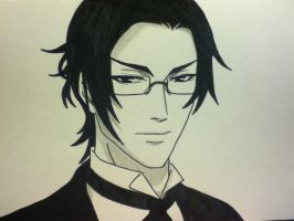 Claude Faustus by bunny-in-pink