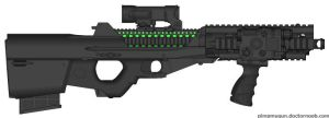 X99 Laser Rifle by duckondrugs10