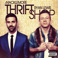 Macklemore and Ryan Lewis - Thrift Shop CD COVER by GaGanthony