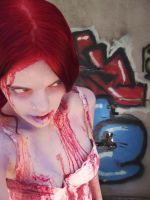 Zombie Me Graffiti by Rosary0fSighs