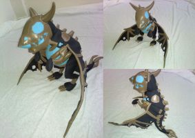 Baby Frostwyrm by bettatesting