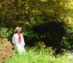Mrs Mon a* In A Garden Near Giverny by aegiandyad