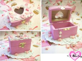 Sweet Lolita Pink Jewelry Box by lessthan3chrissy
