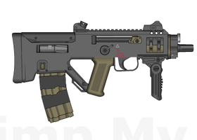 PZ-556 PDW by ThantosEdge