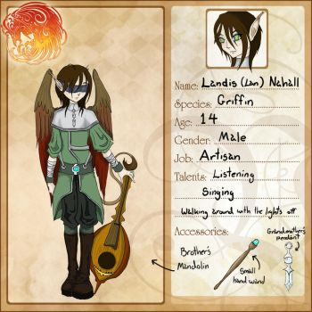 Landis OC for Voleros by Maileigh