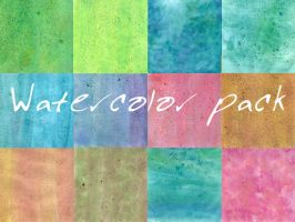 Watercolor pack by yulia7