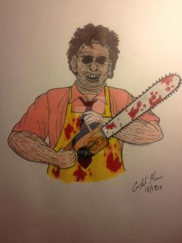 Leatherface by DarthGaber