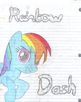 rainbow dash by FallenSunshine