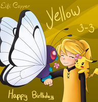 Happy Birthday Yellow! by Eifi--Copper
