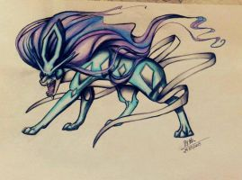 Suicune by TehChan