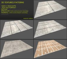 Free 3D textures pack 29 by Nobiax