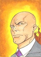 Lex Luthor Sketch Card 1of3 by wheels9696