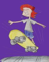 Jo Hammet- Skateboarding by Choco-Chick87