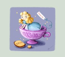Alice in Wonderland. Disney by RocioGarciaART