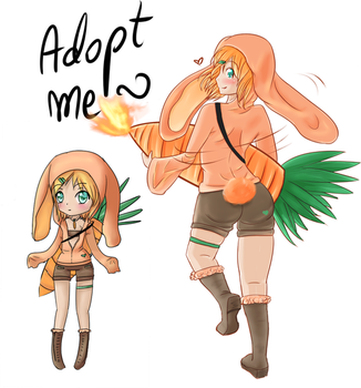 Auction - Remake adoptable nr.5 Bunnygirl [CLOSED] by MyC-chan