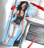 the.mirror's.edge by cranblerry