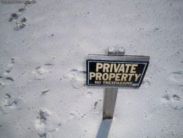 Private Property by anonymous-nyne