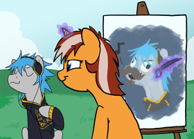 Portrait Request by professor-ponyarity
