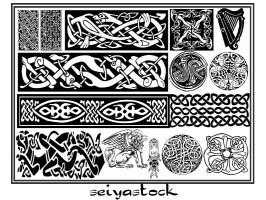 keltic ornament seiyastock by seiyastock