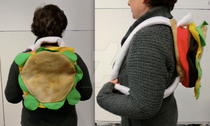 Functional Steven Universe Cheeseburger Backpack by cross-academy-crafts