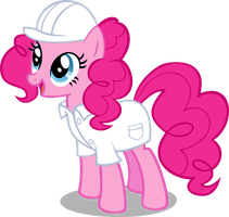 Request - Factory Pinkie Pie by Kopachris