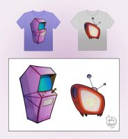 T-shirts designs 1 by Phil-Crash-Murphy