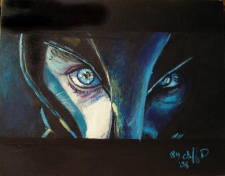 the eyes of Marcus by cliford417