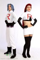 We are TEAM ROCKET by Nefzinha