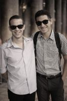 Ahmed and Jacob by JennyLynnPhotography