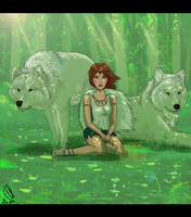 Princess Mononoke by Polar-Wolf