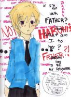 Not Haruhi's father? by industrial-cheese