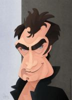 Timothy Dalton by WonderDookie