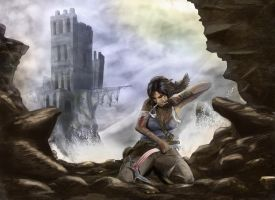 Tomb Raider by Albanabdrawing03