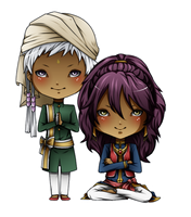 Prince Soma and Agni by Lobsterbeef
