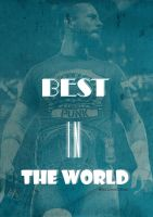 BEST IN THE WORLD POSTER CM PUNK by lovelives4ever