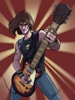 ROCK OUT by MechaBennett