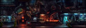 Deep Space... Kitchen by walachnia